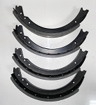 Front Brake Shoe Set For GT Series Onward RG6924-A